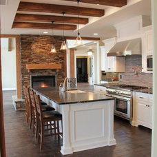 Rustic Kitchen by Rosenfeld Construction