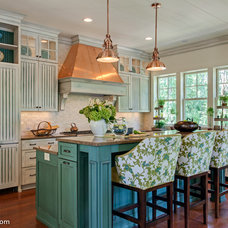 Traditional Kitchen by Connie Vernich Designs