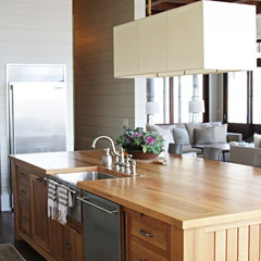 contemporary kitchen by Yvonne McFadden LLC