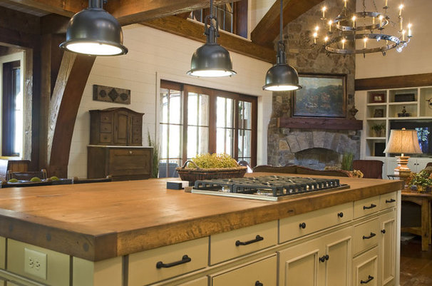 Rustic Kitchen by The Berry Group