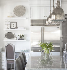 contemporary kitchen by Linda McDougald Design | Postcard from Paris Home