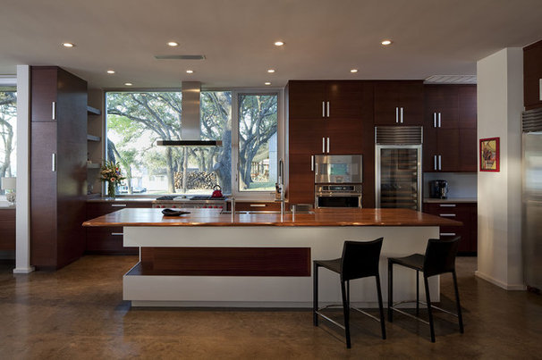 Contemporary Kitchen by Dick Clark + Associates