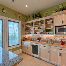 Eclectic Kitchen by Andrew Roby General Contractors