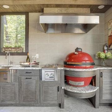 Lake Martin Outdoor Kitchen