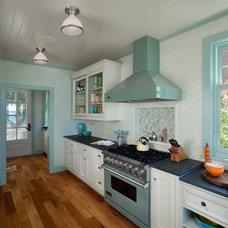 Eclectic Kitchen by J Visser Design