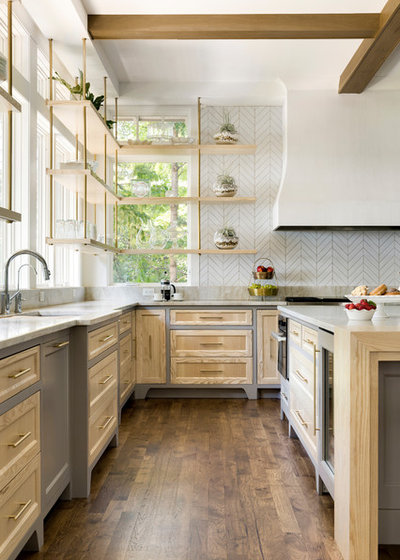 Country Kitchen by ADŌR Homes