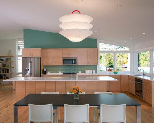 Sloped Ceiling Kitchen Houzz