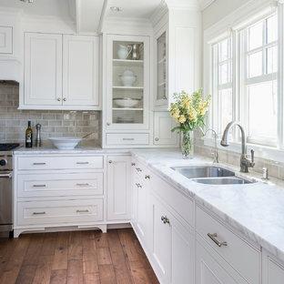 Lake Minnetonka Tailored White Kitchen