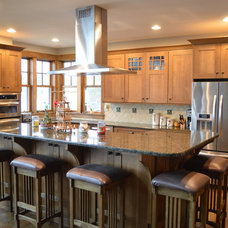Traditional Kitchen by Blue Ridge Kitchens & Baths