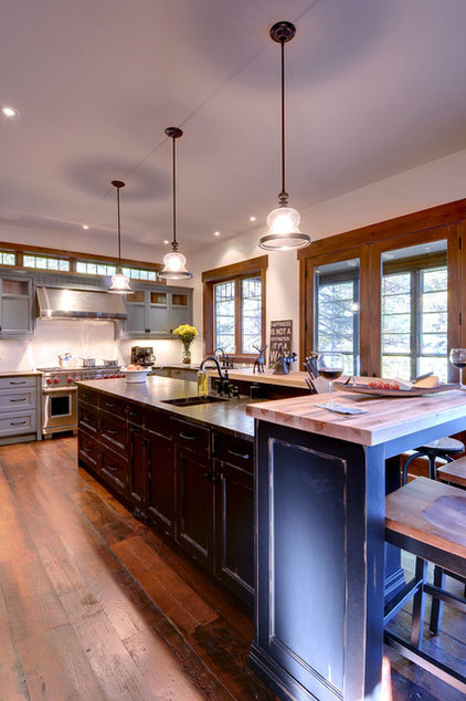 Traditional Kitchen by Urban Rustic Living