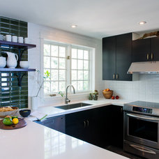 Transitional Kitchen by Timothy Johnson Design