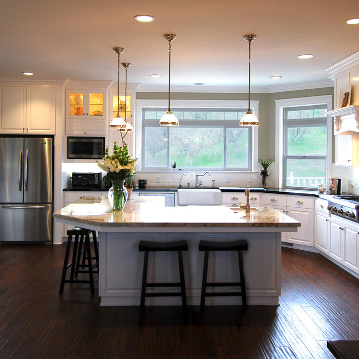 Traditional Lake House Remodel
