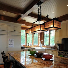 Eclectic Kitchen by Urban Rustic Living
