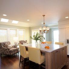 Transitional Kitchen by Nordby Design Studio, Architecture & Interiors LLC