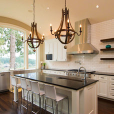 Traditional Kitchen by Riverland Homes Inc