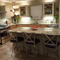 Contemporary Kitchen Lake Ridge