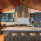 Rustic Log Home Rustic Kitchen Cleveland By Mullet