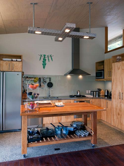 Ideas para cocinas   Fotos de cocinas rústicas con salpicadero de ...