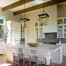 Transitional Kitchen by Shoberg Custom Homes