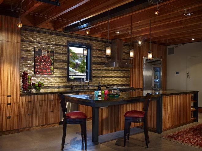 Contemporary Kitchen by Dan Nelson, Designs Northwest Architects