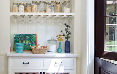 7 Ways to Create Open Pantry Space