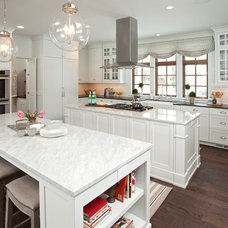 Transitional Kitchen by JALIN Design, LLC