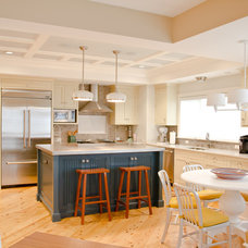 Beach Style Kitchen by Dan Vos Construction Company