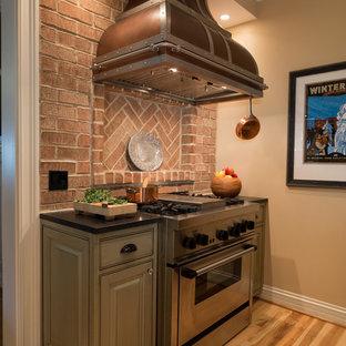 Lakefront Kitchen Remodel - Range with Hood