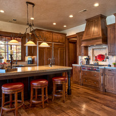 Rustic Kitchen by Ridgeline Construction Group, Inc