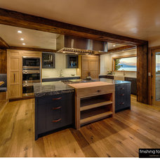 Rustic Kitchen by Finishing Touch Carpentry