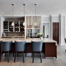 Transitional Kitchen by Highgate Builders