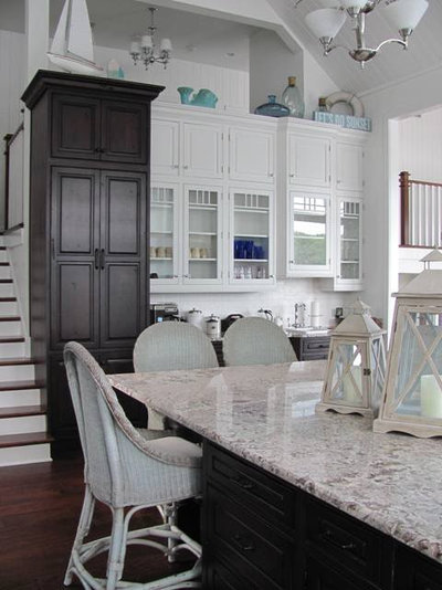 Traditional Kitchen by Kim Hoegger Home aka Cottage Girl