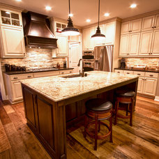 Rustic Kitchen by The Buttorff Company