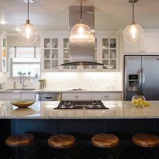 Contemporary Kitchen by Samantha Kate Design