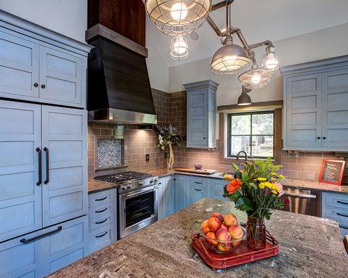 Best 15 Rustic Blue Kitchen Ideas Decoration Pictures