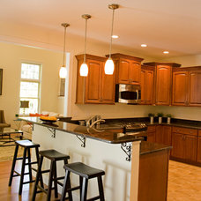 Contemporary Kitchen by Chrissis & Company Interiors