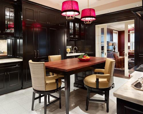 Dark wood kitchen cabinets home design ideas pictures for Bentwood kitchen cabinets