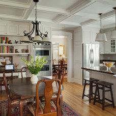 Traditional Kitchen by Tom Bassett-Dilley Architect, Ltd.