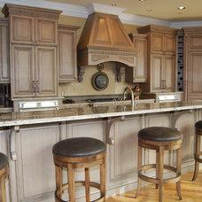 Rustic Kitchen by EARLAINE WEBB