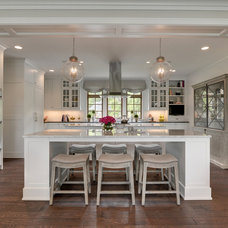 Transitional Kitchen by REFINED LLC