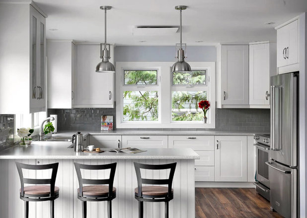 New This Week 3 Stunning White And Gray Kitchens