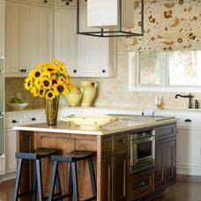 Asian Kitchen by Tobi Fairley Interior Design