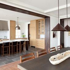 Transitional Kitchen by Kurt Baum & Associates