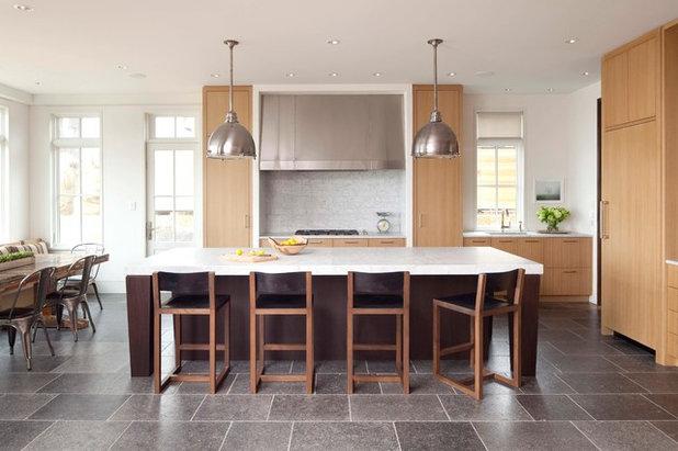 Transitional Kitchen by Kurt Baum Architects