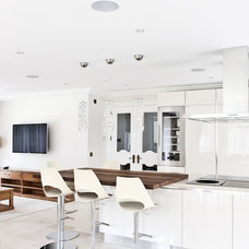 Contemporary Kitchen by West London AV Solutions Ltd