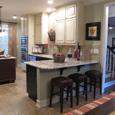 Traditional Kitchen by Tonya Hopkins Interior Design