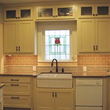 Farmhouse Kitchen by New Creation Group Remodeling