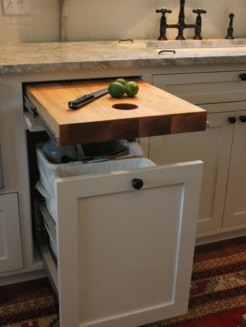 Over Trash Bin Cutting Board Home Design Ideas Pictures Remodel And Decor