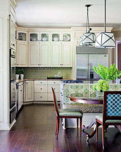 Traditional Kitchen by Tobi Fairley Interior Design