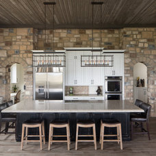 Rustic Kitchen by Duet Design Group